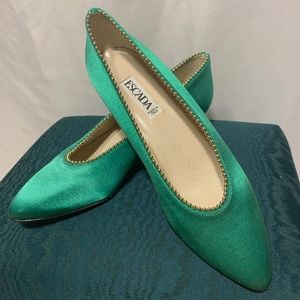 Escada Evening Shoes - Green